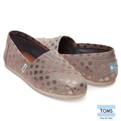 TOMS 圓點懶人鞋-女款
