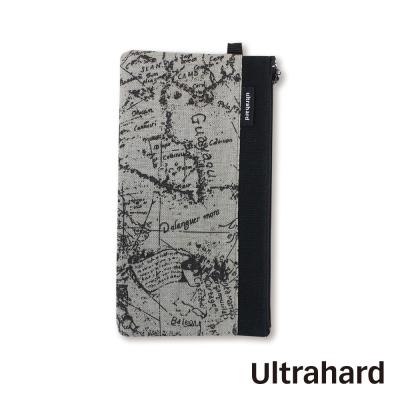 Ultrahard 手機袋- World Map 世界地圖系列(礦石黑)