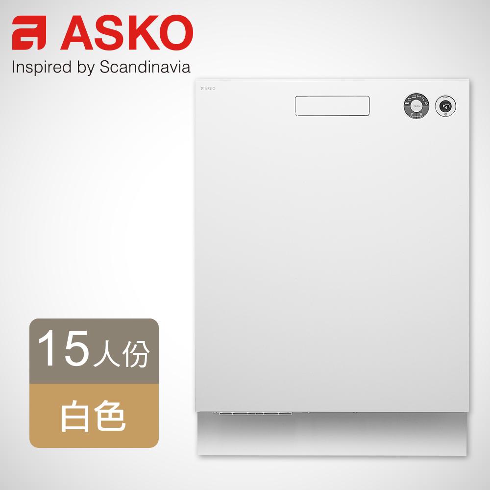 ASKO 瑞典賽寧15人份洗碗機 D5436(白色嵌入型)