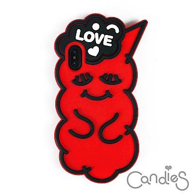 Candies 睡眠寶寶(Love紅) iPhone X 手機殼