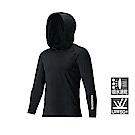 SHIMANO SUN PROTECTION 連帽釣魚衫 IN-062Q 黑色