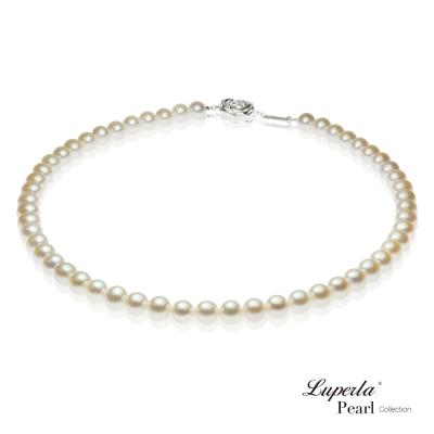 大東山珠寶 美麗公主之星珍珠項鍊(白)