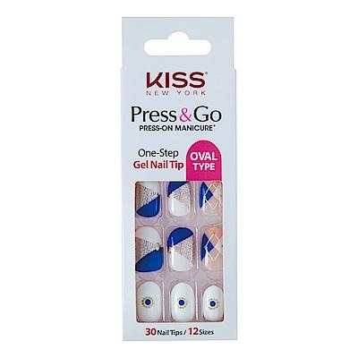 美國 KISS New York-指甲貼片(PNGO114K我的鬼神搭檔)