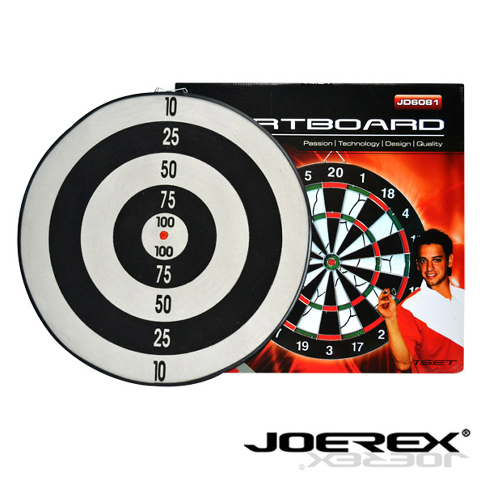 《凡太奇》日本品牌【JOEREX】17吋雙面飛鏢盤