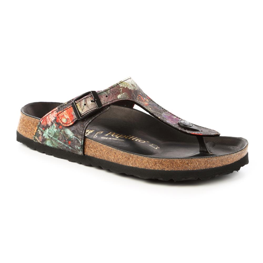 勃肯papillio 1007091。GIZEH吉薩 夾腳拖鞋(古典花卉)