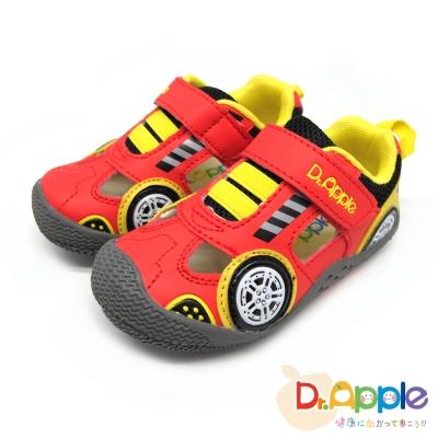 Dr. Apple 機能童鞋 涼爽競速透氣涼童鞋款 紅