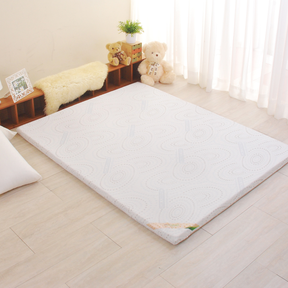 LooCa 德國銀離子抗菌5cm乳膠床墊 單大3.5尺