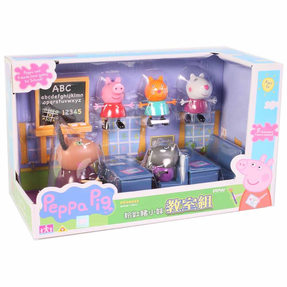 Peppa Pig 粉紅豬小妹 教室組