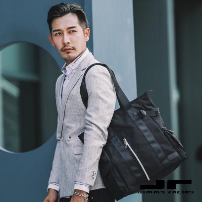 JimmyRacing城市獵人銀光鍊條肩挎包手提包
