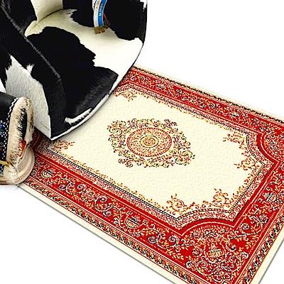范登伯格 - 琥珀 進口地毯 - 花鑽 (紅) (迷你款 - 70 x 105cm)