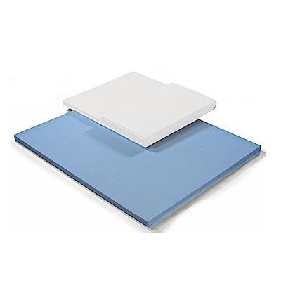 H&D 6尺吸濕排汗環保床墊 (寬182X深182X高5cm)