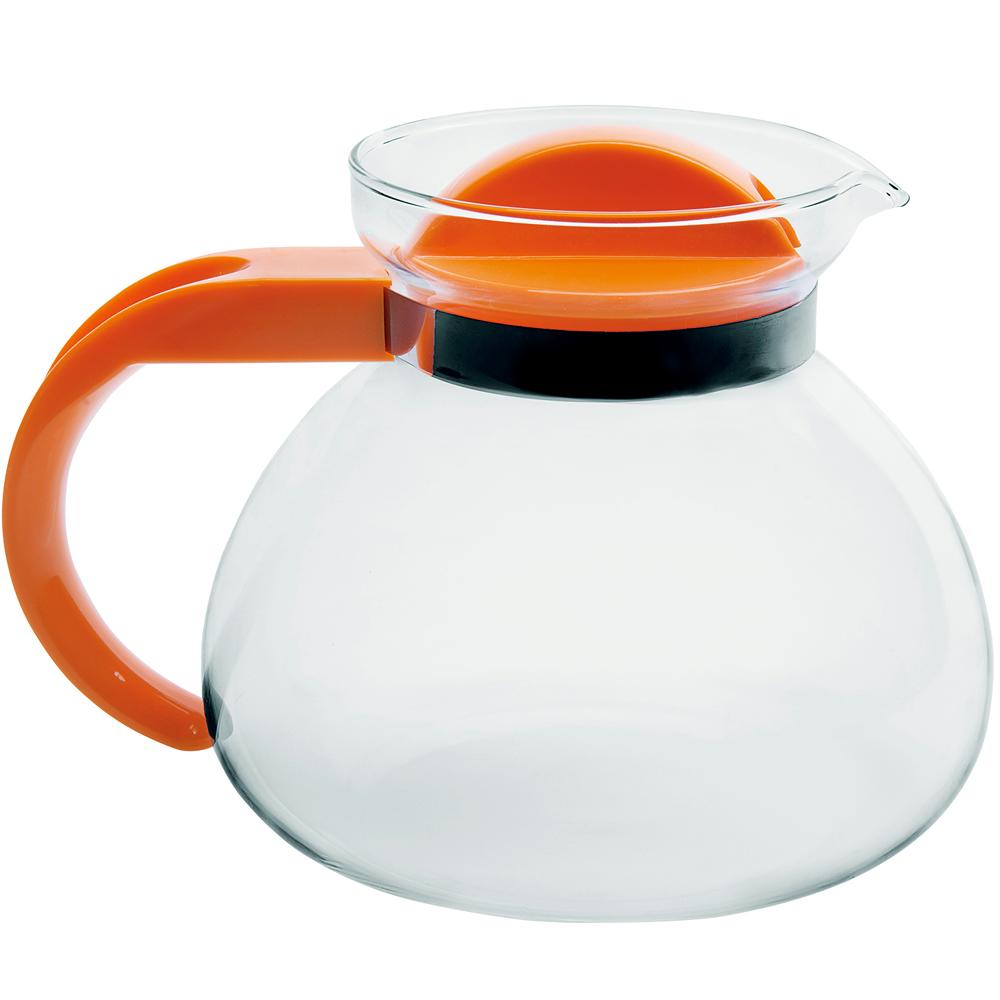 EXCELSA Teatime耐熱玻璃壺(橘1.9L)