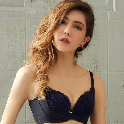 EASY SHOP-情迷香榭 大罩杯B-E罩成套內衣(典藏黑)
