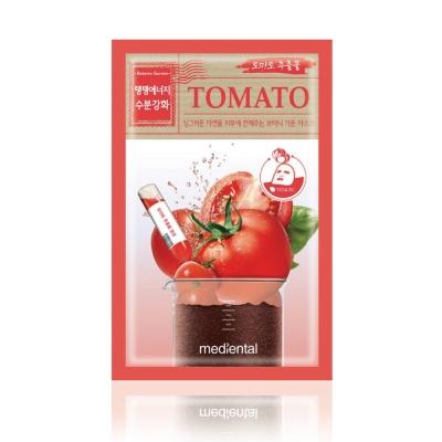 MEDIHEAL-田園番茄彈性強效補水面膜-10片-盒