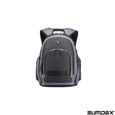 【SUMDEX】X-sac雨防護相機/電腦旅行背包15.6吋(PON-395)