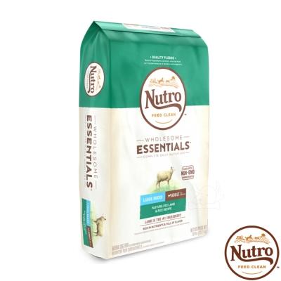 【Nutro 美士】全護營養 大型成犬(牧場小羊+健康米)30磅 X1包