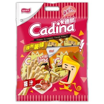 卡迪那 德州薯條-茄汁量販包(42gx4包/袋)