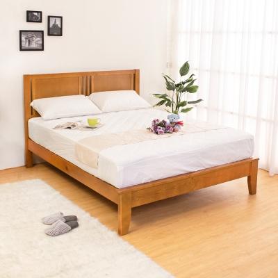 Boden-蒂琪5尺實木雙人床架