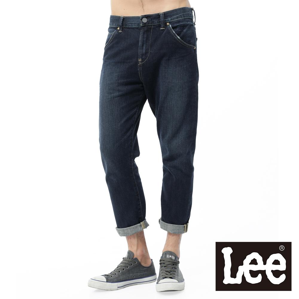 Lee 牛仔褲 八分牛仔褲/RT-男款-男款-藍