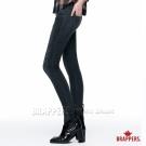 BRAPPERS 女款 新美腳系列-中低腰超彈性合身窄管褲-黑絲花