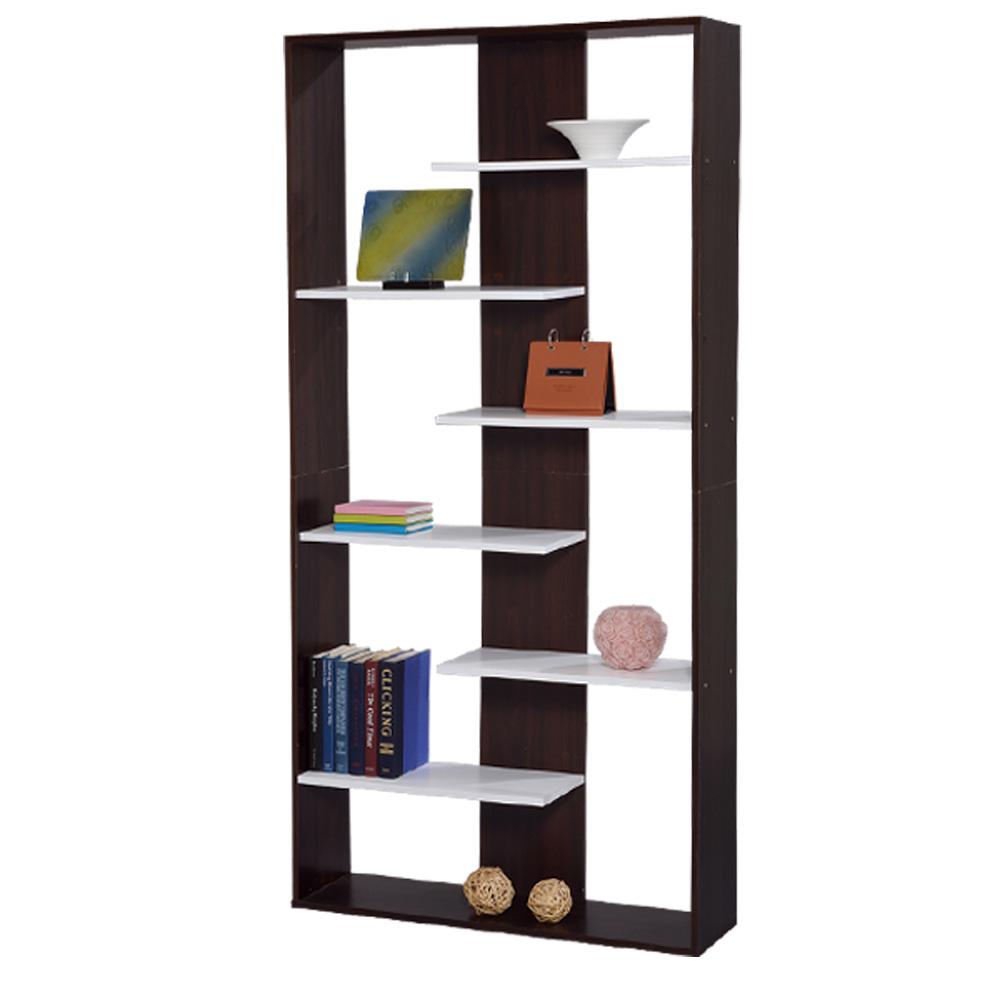 LOGIS-北歐極簡收納櫃/置物櫃/展示櫃(90x24x180cm)
