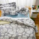 Cozy inn 花趣- 200織精梳棉四件式兩用被床包組(雙人)