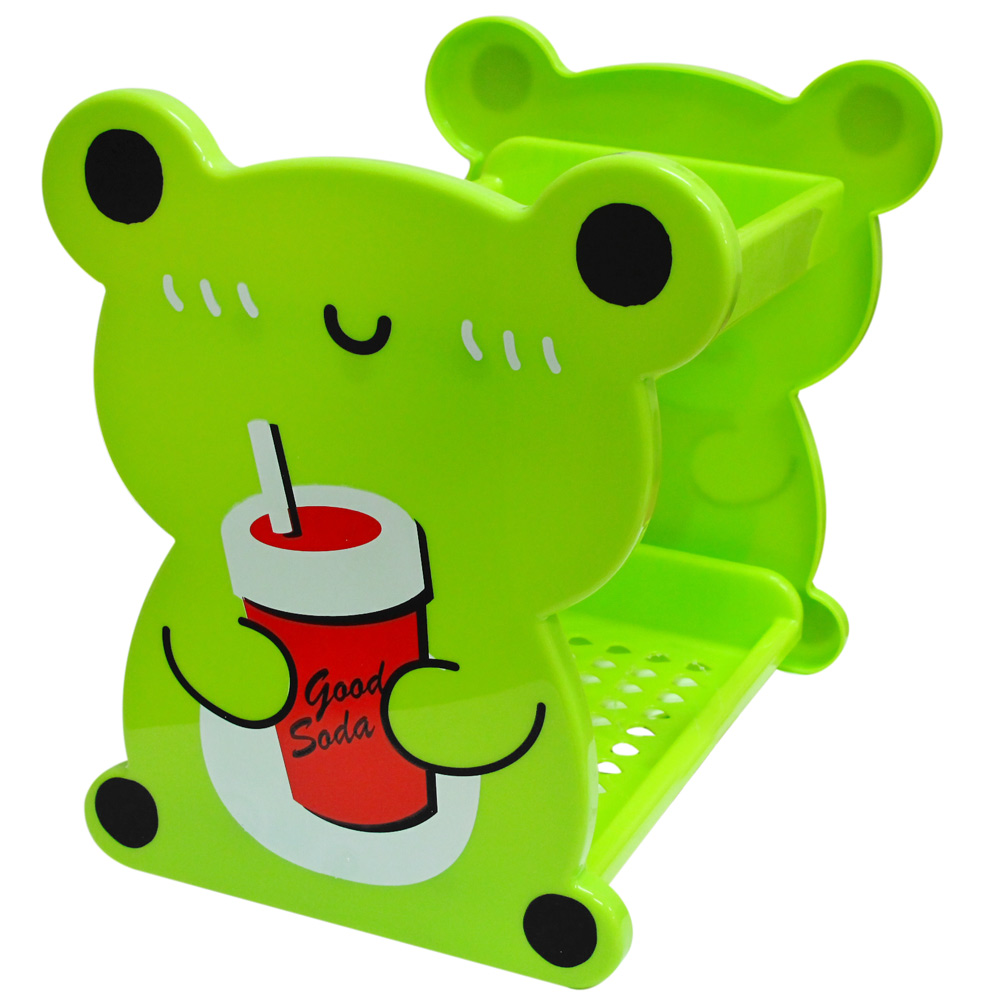【JoyLife】可愛動物多用途雙層置物架
