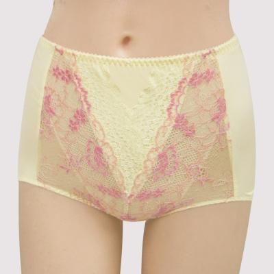 曼黛瑪璉-16SS包覆提托-雙弧  高腰三角修飾內褲(溫暖黃)