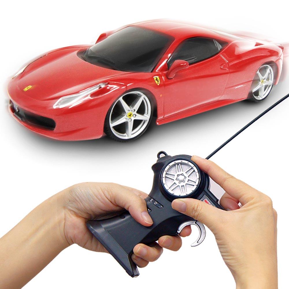 Ferrari 458 Italia 1:24無線遙控模型車紅