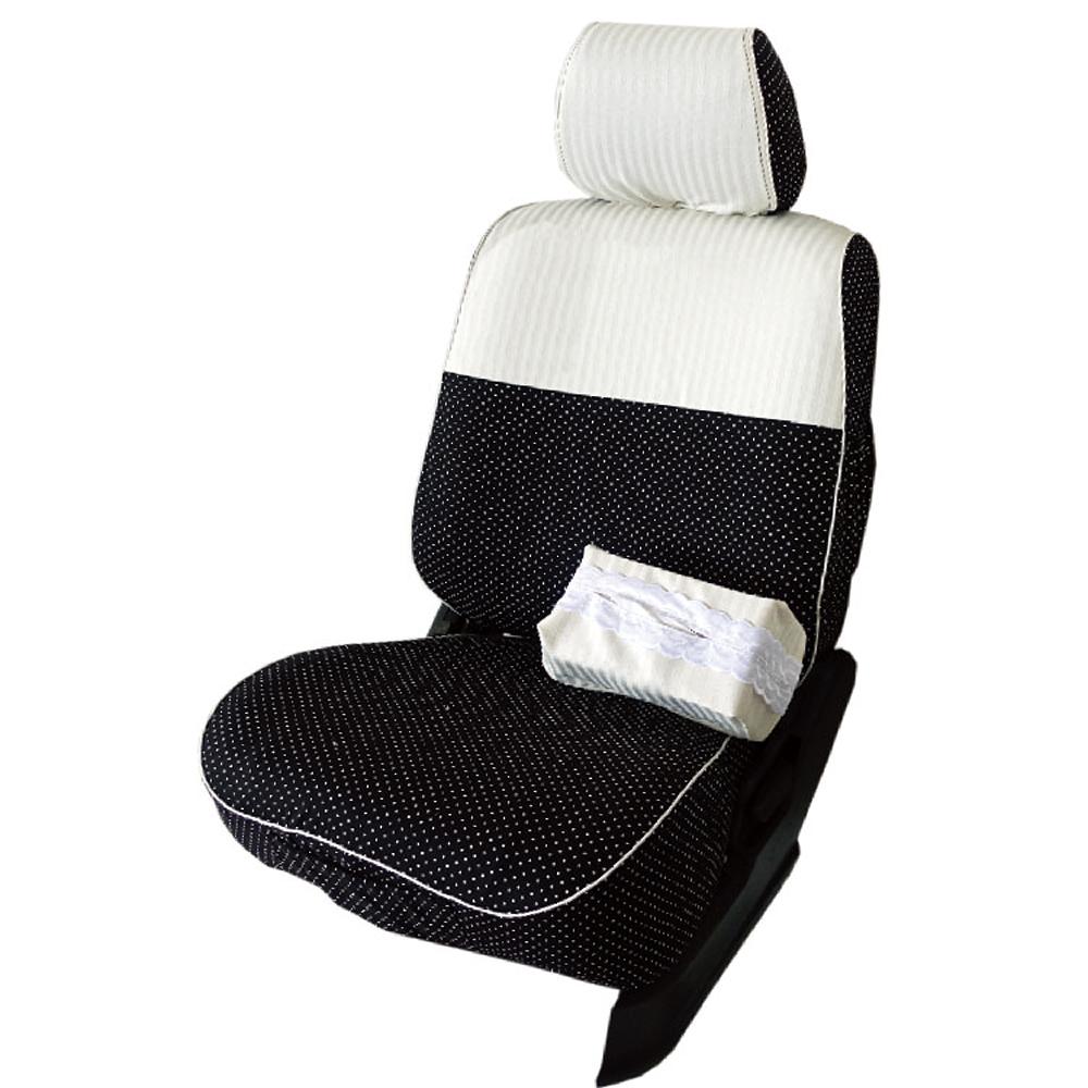 【葵花】量身訂做-汽車椅套-布料-直紋珍珠-休旅車-6-8人座款1+2+3排