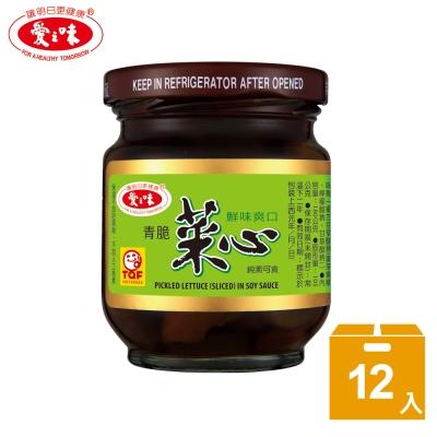愛之味 青脆菜心(180gx12入)