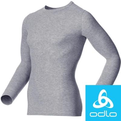 瑞士【Odlo】152022 男銀離子圓領保暖衛生衣(灰)
