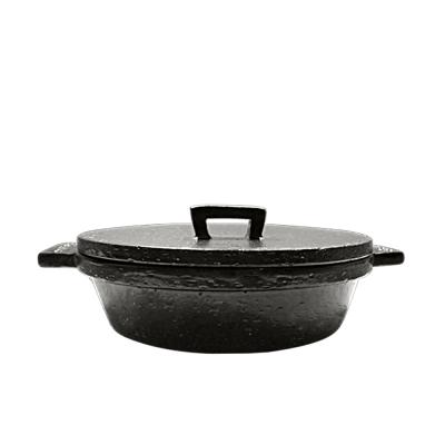 【日本長谷園伊賀燒】小酒館珍味陶鍋(黑)