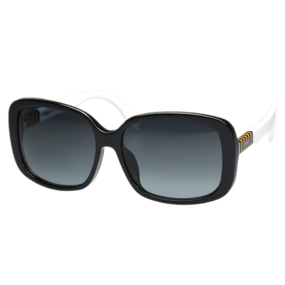 FENDI 時尚太陽眼鏡 (黑色)FF0071FS