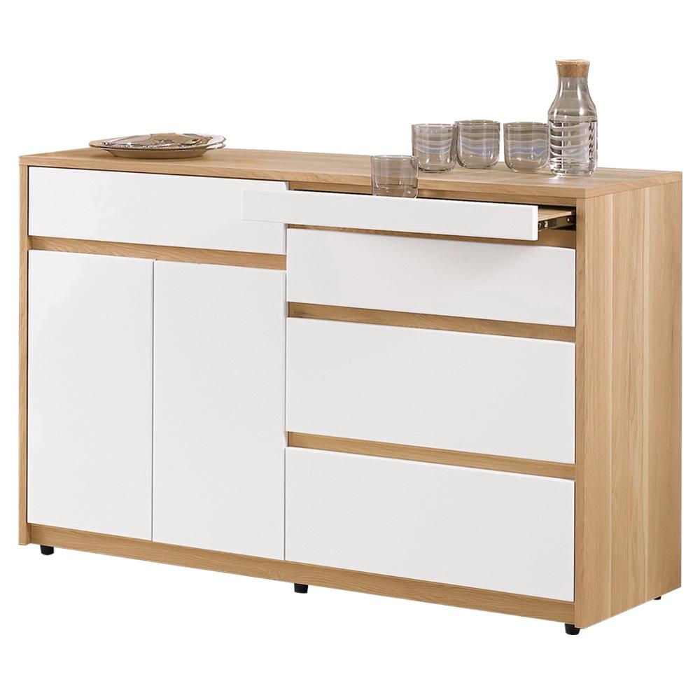 愛比家具 斯蒂芬4尺碗碟櫃/收納櫃