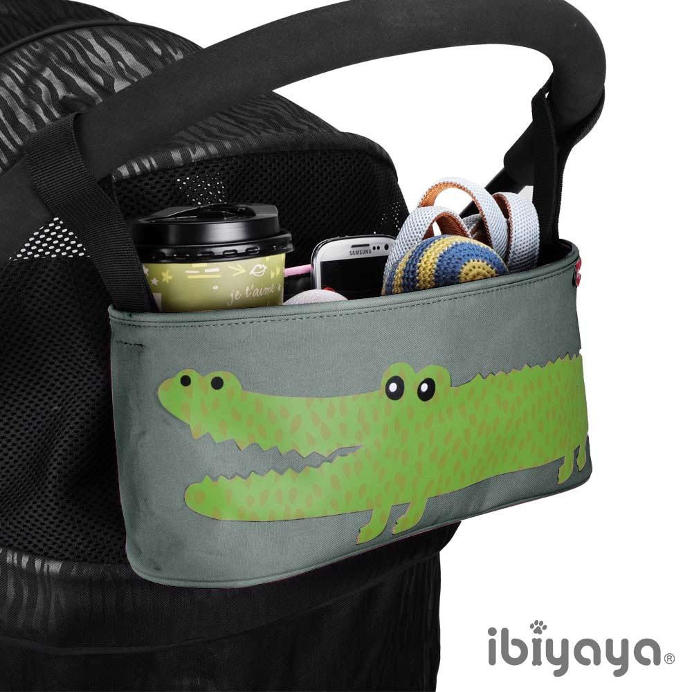 IBIYAYA依比呀呀-多用途置物吊袋-灰鱷魚
