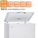 KOLIN-歌林-155L-臥式冷凍冰櫃-KR-E