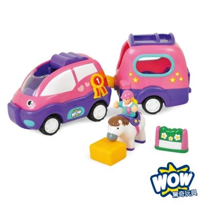 英國【WOW Toys 驚奇玩具】馬廄休旅車 波比