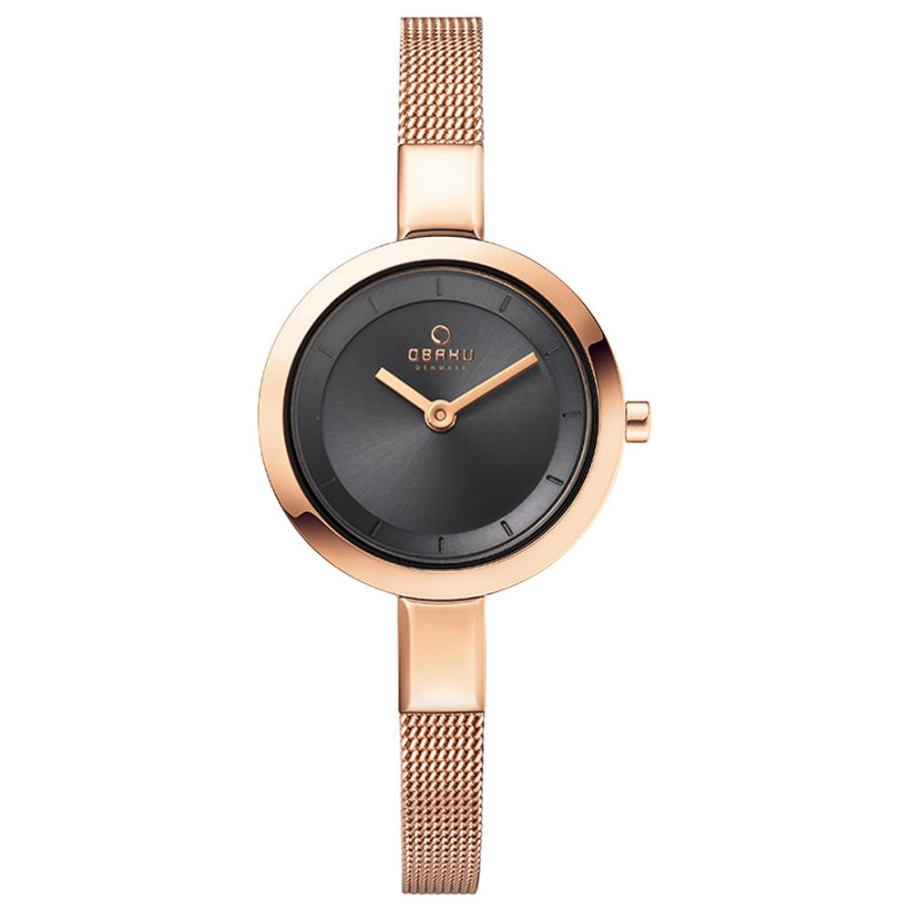 OBAKU 小巧媛式米蘭腕錶(V129LXVJMV)-27mm