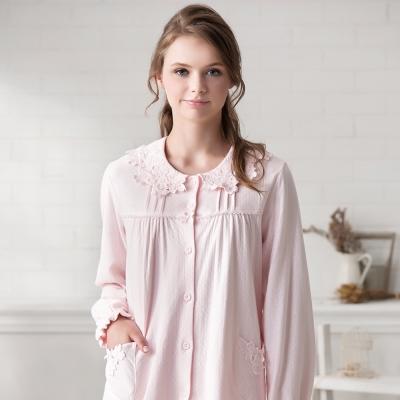 羅絲美睡衣 - 溫柔記憶長袖褲裝睡衣(淺粉色)