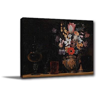 橙品油畫布-單聯式橫幅 掛畫無框畫 沉悶中的生機 40x30cm