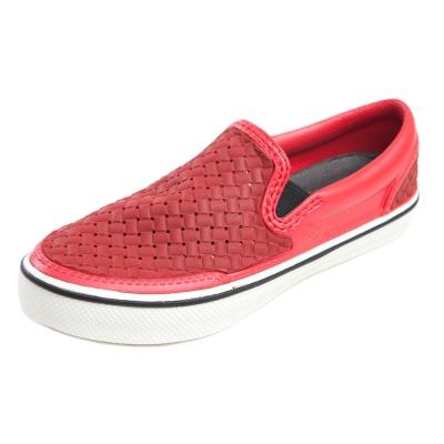 (男/女)Ponic&Co美國加州環保防水編織懶人鞋-紅色