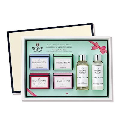 H&W英倫薇朵 寵愛滋潤沐浴禮盒-舞茶伯爵