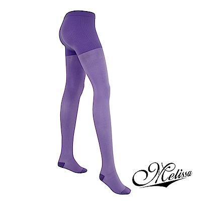 Melissa 魅莉莎 醫療級時尚彈性美腿襪─褲襪(薰衣紫)