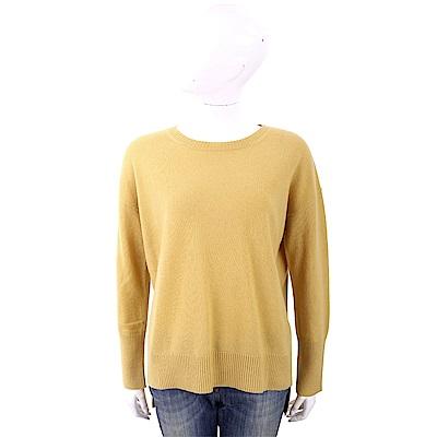 MARELLA 喀什米爾芥黃色針織羊毛衫