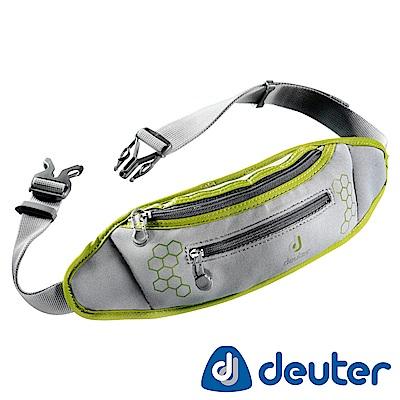【ATUNAS 歐都納】德國DEUTER休閒旅遊防竊/慢跑隨身貼身輕量腰包39040灰綠