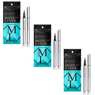 MOTE LINER大和匠筆眼線液-玄黑3入組