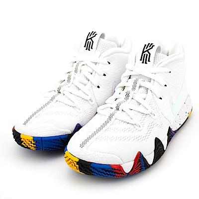 24H-NIKE-中童籃球鞋AA2898104-白