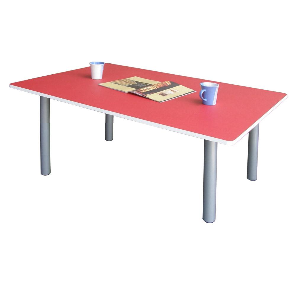 Dr. DIY 大桌面80x120cm和室桌/書桌 (紅白色)