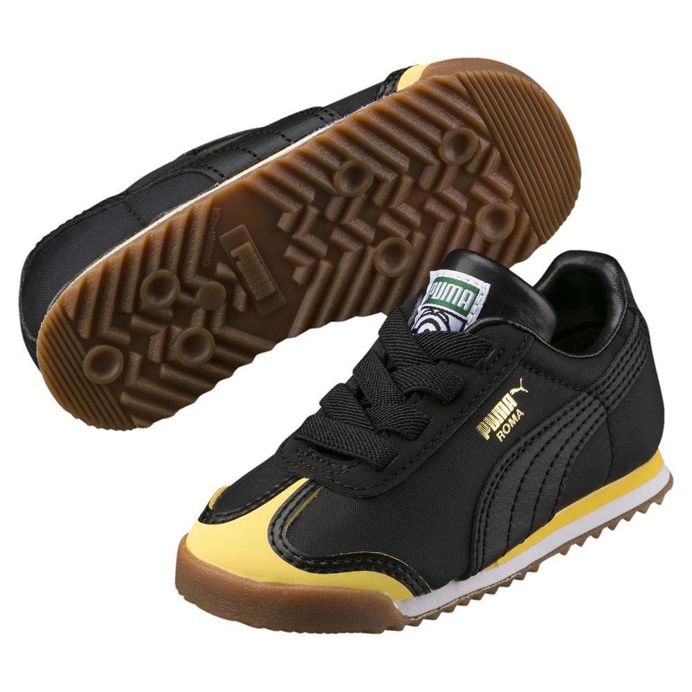 PUMA-MinionsRomaInf嬰孩鞋-黑色
